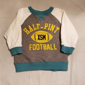 Boys football pullover sweater